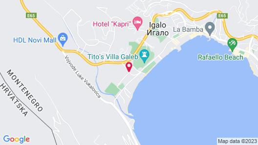 Hotel Novi Map