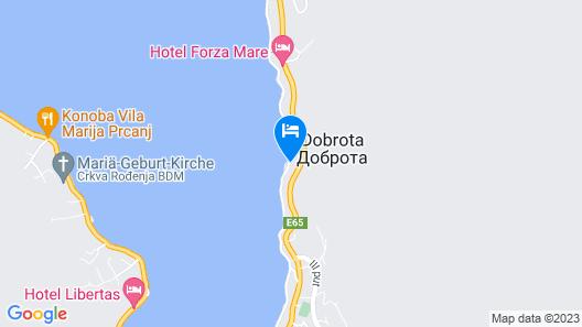Apartments Radulovic Map