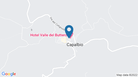 Valle del Buttero Hotel Residence Map