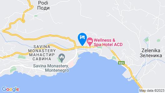 Apartmani Bozinovic Map