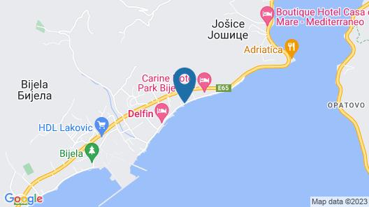 Boutique Hotel Casa Del Mare - Blanche Map