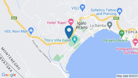 Hotel Adria sport Map