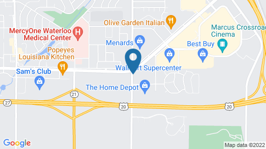 Country Inn & Suites by Radisson, Waterloo, IA Map