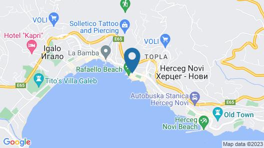 Apartmani Vila Kukoljac Map