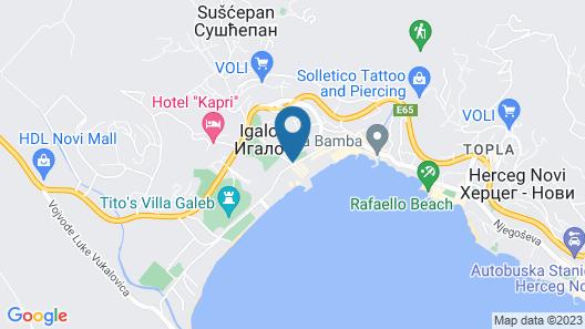 Palmon Bay Hotel & Spa Map