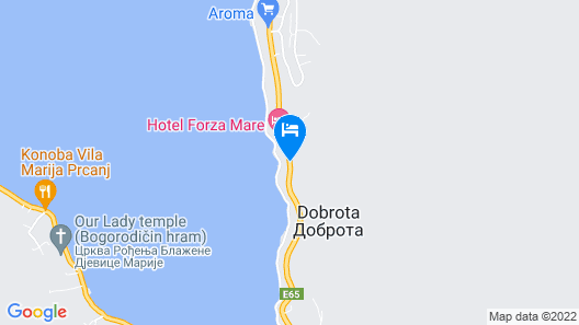 Apartments Ivardic Map