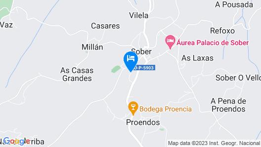 Casa do Bouza Vello Map
