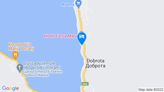 Apartments Miramar Map