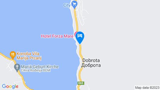 Boutique Hotel Casa del Mare Pietra Map