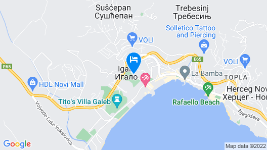 Apartments Vidakovic Map