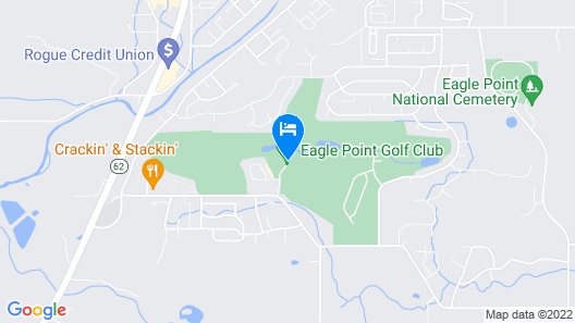 Resort at Eagle Point Map