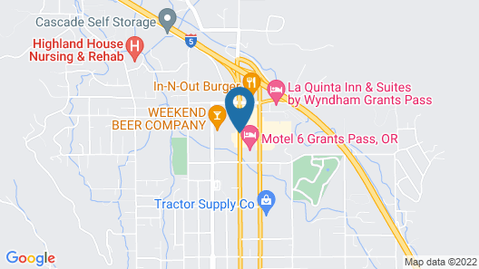 Red Lion Inn & Suites Grants Pass Map