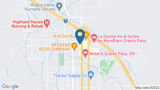Travelodge by Wyndham Grants Pass Map