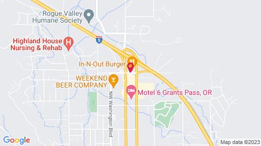 Hampton Inn & Suites Grants Pass, OR Map