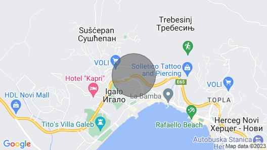 Apartment Mila Map