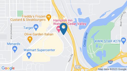 Fairfield Inn & Suites by Marriott Waterloo Cedar Falls Map