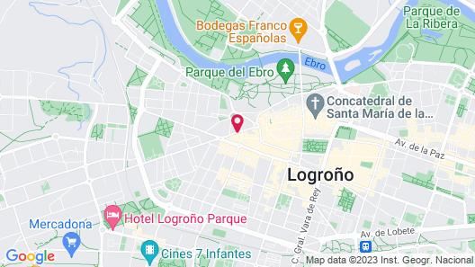 NH Logroño Herencia Rioja Map