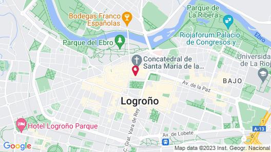 Eurostars Marques de Vallejo Map