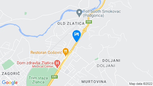 Hotel Lazaro Map