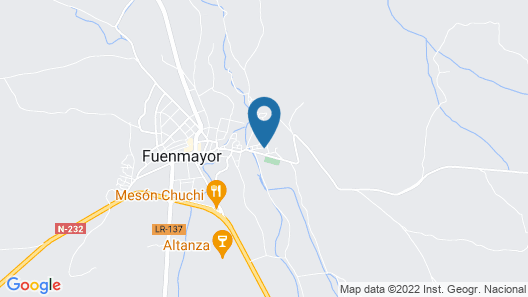 Tourist Accommodation in Rural Environment Fuenmayor, Logroño, La Rioja Map