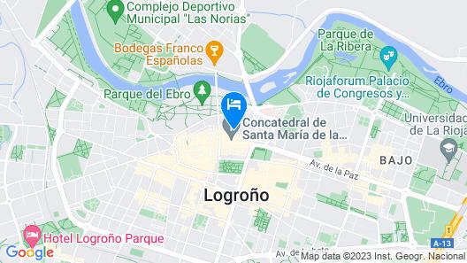 Apartamento  Corazón de Logroño Map