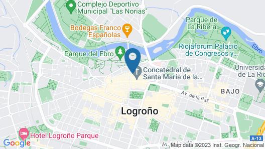 Hotel Calle Mayor Map