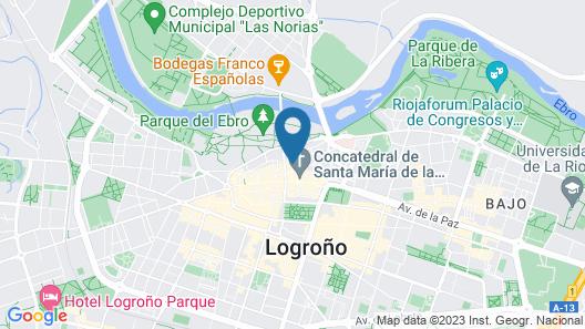 El Patio de San Nicolas Map