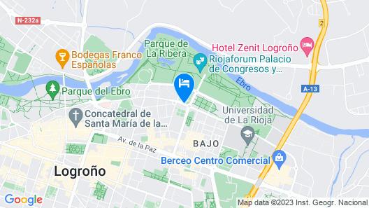 AC Hotel La Rioja by Marriott Map