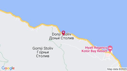 Blue Kotor Bay Premium Spa Resort - Adults only Map