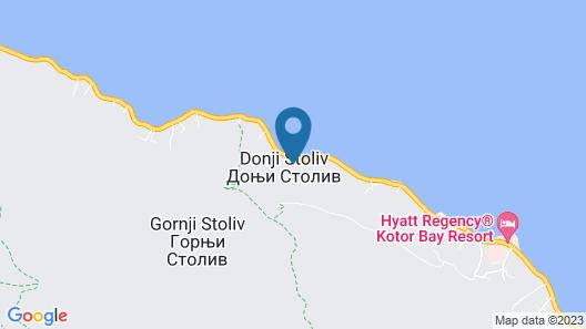 Blue Kotor Bay Premium Spa Resort Map