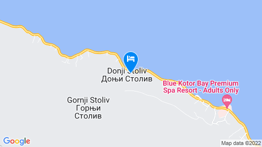Blue Kotor Bay Premium Spa Resort Map