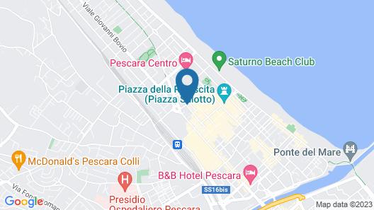 Hotel Ambra Palace Map
