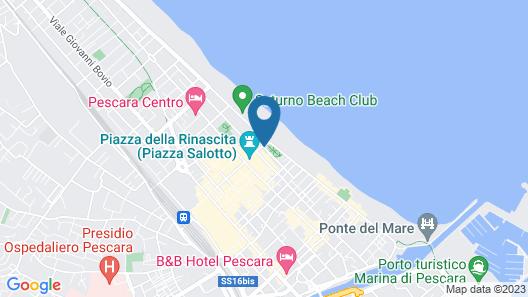 Hotel Esplanade Map