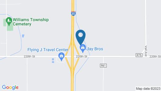 Circle S Motel Map