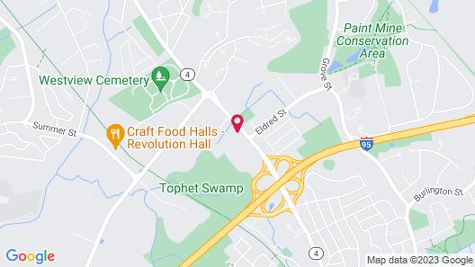 Quality Inn & Suites Lexington Map