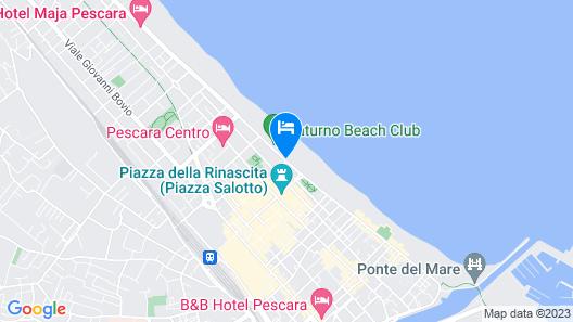 Carlton Hotel Map