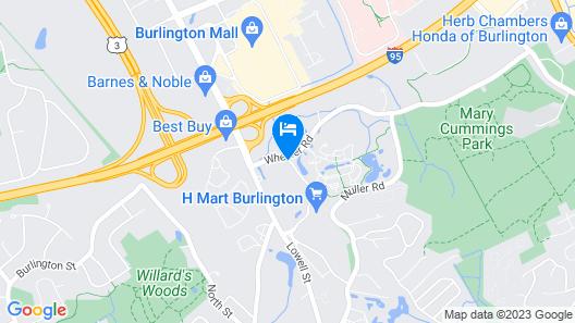 Sonesta ES Suites Burlington Boston Map