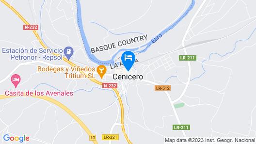 Hostal La Uva Map