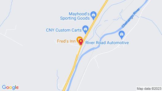 Fred's Inn Map
