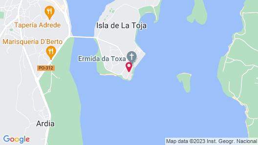 Eurostars Isla De La Toja Map