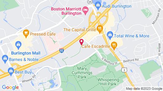HYATT house Boston/Burlington Map