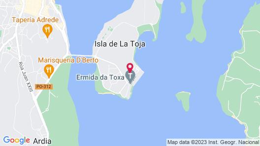 Talaso Hotel Louxo La Toja Map