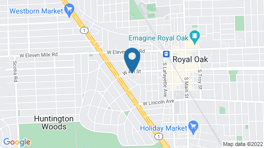 Stunning Royal Oak Townhouse Map