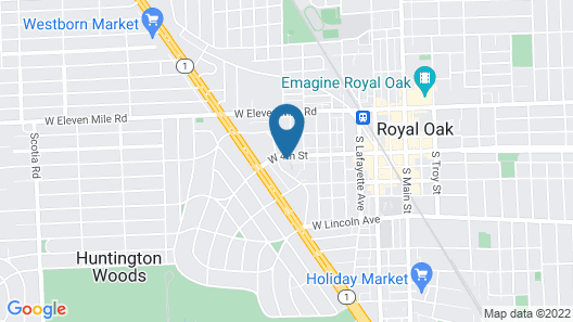 Beautiful Royal Oak Townhouse Map