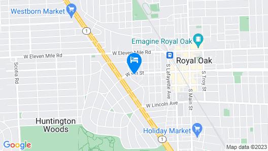 Beautiful Royal Oak Townhouse Map