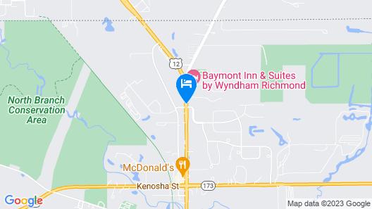 Baymont Inn & Suites by Wyndham Richmond Map