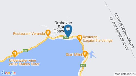 Hotel Casa del Mare - Amfora Map