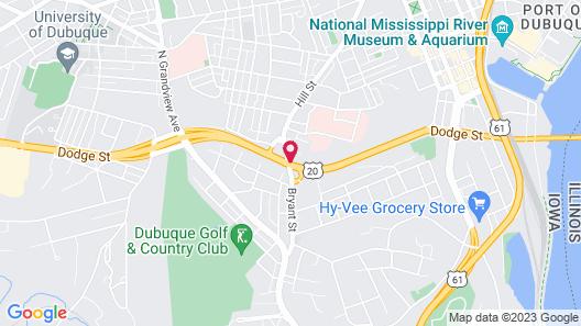 Days Inn by Wyndham Dubuque Map