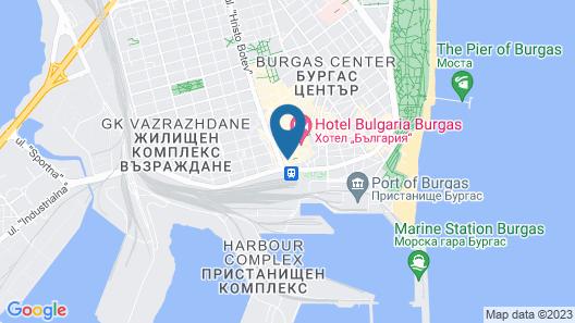 Hotel Burgas Map