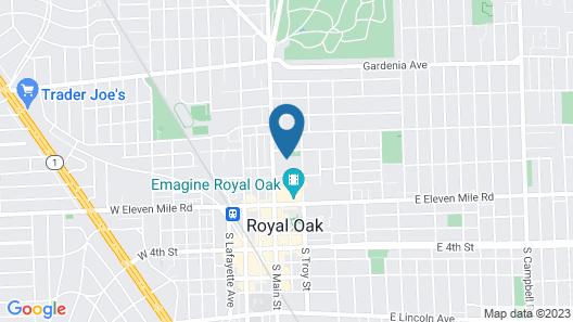 Hyatt Place Detroit Royal Oak Map